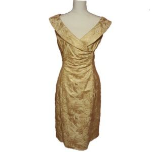 Evan Picone formal dress size 12 V neckline
